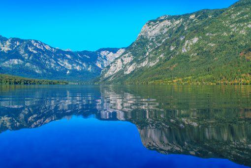 Lake Bohinj reflection
