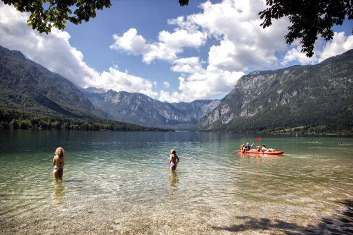 Lake Bohinj swimming