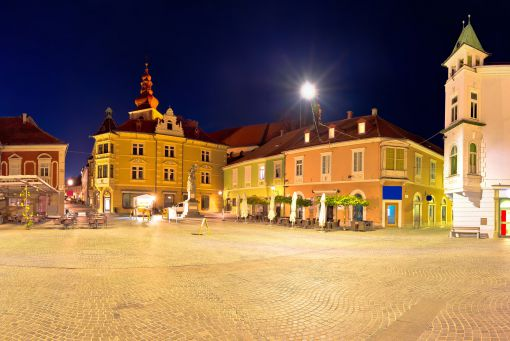 Ptuj evening view