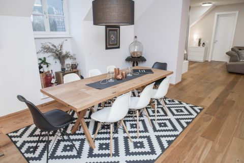 Apartment Bled View dining table