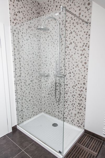 Apartment Bled View shower room