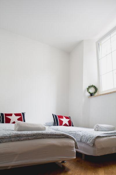 Twin bedroom (apartment 2)