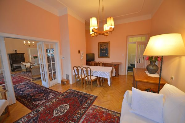Hall and dining table