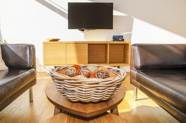 Sitting area TV
