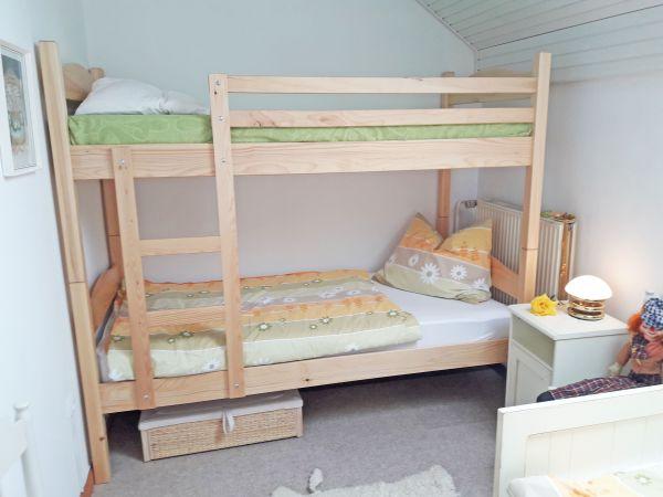 Bedroom three bunk beds